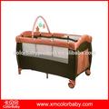 Cama de casal dossel/novo design florescente bebê cercadinho bp604b