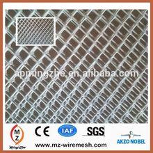 iron bbq grill expanded metal mesh / diamond opening expanded mesh / expanded mesh fence