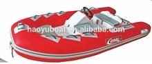 CE Certified 3.6M semi-rigid fiberglass boat RIB360C with Side Console for sale
