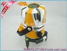 FU-LPT-042 8 Line Laser Level,Multi Line Laser Level,Auto Leveling Laser