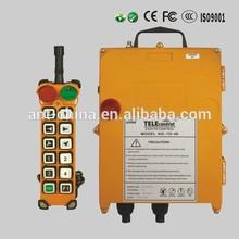 remote control wireless crane radio remote control for 12 single speed channel 12v /24v/36v/48v ac/dc