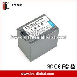 Camera batteries for Sony NP-FP90,long lasting 2250mAh digital battery for Sony