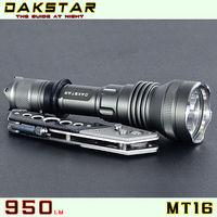 DAKSTAR MT16 XML T6 950LM 18650 High Power Deep Reflector Waterproof CREE LED Tactical Camping Flashlight