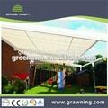 Premium toldo telhado/conservatório toldo pergola
