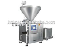 Vacuum stuffer for sausage processing