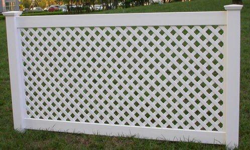 white vinyl lattice pvc fence square view lattice pvc fence square tianjie product details. Black Bedroom Furniture Sets. Home Design Ideas