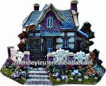 Aquarium fish tank water floor resin ornament craft Mini villa house display