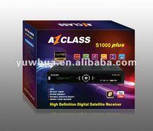 Nagra3 Free azclass s1000 plus hd decodificadores receptores satelitales