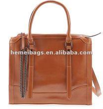 2013 Fashion design pu shoulder bag for office woman