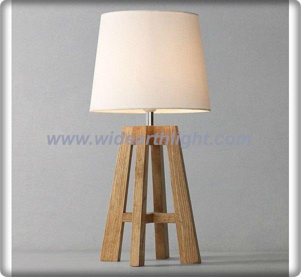 Lamparas Mesa Diseño Lámpara de Mesa de Madera