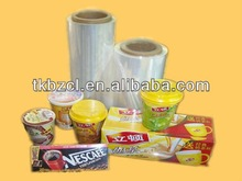 noodle cup wraping POF SHRINK FILM FOOD WRAPING (SGS&FDA)