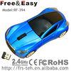 RF-394 car shape custom led light wired&2.4ghz usb wireless car mouse