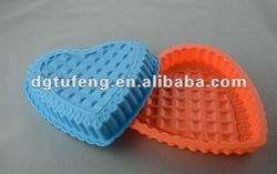 Heart shape silicone cake mould and baking pan