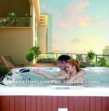 2012 Hot sale Outdoor Massage Spa Bathtub, Rectangular Hot tubs