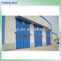 zm elettrico germania tecnica di alta qualità rinforzato industriali magazzino porta a soffietto