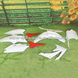 CHINA HIGH QUALITY 450CC PLSATIC BODY white CRF450 fairing kits