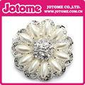 Rhinestone broche de perlas por invitación de la boda 26mm/30mm/50mm
