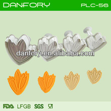 Tulip sugarcraft decoration tools for fondant cake decoration, tulip cake cutter