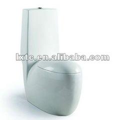 bathroom ceramic Siphonic/washdown one piece toilet