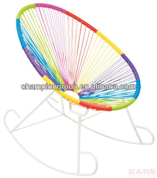 bunte schaukeln korbstuhl helle farbe schaukeln mamasita stuhl gartenstuhl produkt id 686376231. Black Bedroom Furniture Sets. Home Design Ideas