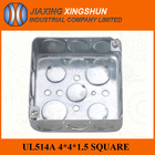 HOT 4x4 Inches Square Knockout types of electrical wall switches