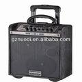 Venda quente portátil falante carrinho/powered falantes pa/wireless com sd/usb