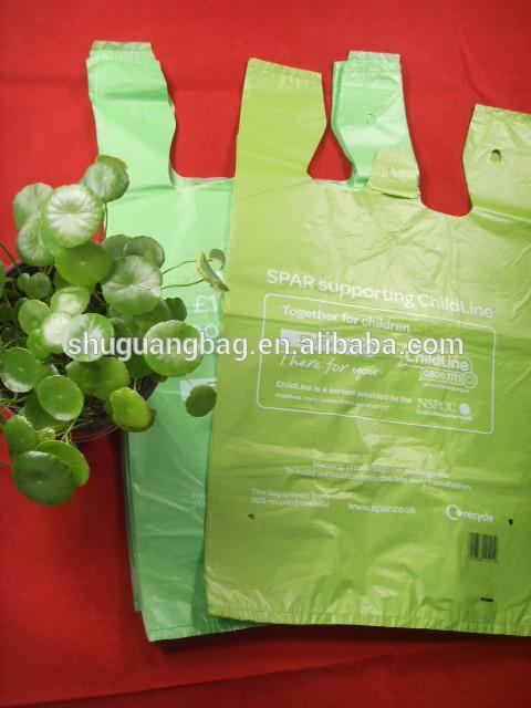 Customized cheap t-shirt bags