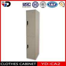 2 tier steel locker with hanging