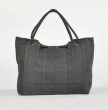 Fashion Women Canvas Leisure Large Zipper Purse Handbag Shoulder Bags Tote