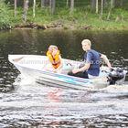 Aluminum boat-300 Catch Fishing / Light