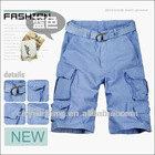 men's 100% cotton clothing brands bermuda cargo board short professional manufacturer (MSC643)