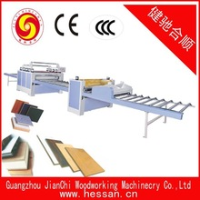 high efficiency mdf Particle board hot press laminating machine with high quality