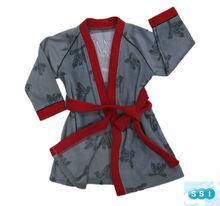 2013 vender top bordado crianças aranha veste kimono