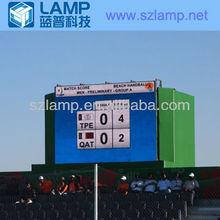 LAMP fulll color rental led scoreboard
