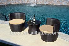 2015 rattan garden furniture set/wicker chair/ ikea outdoor furniture