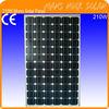 210W 36V Monocrystalline Solar Cells Panel Module with High Performance