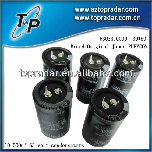 10 000 uf 63 volt condensators ( 63USR10000 30 * 50. Condensador electrolítico 6.3 V 10 V 16 V 25 V 35 V 50 V 63 V 100 V 200 V - 250 V 400 V - 450 V )