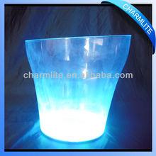 LED Illuminated Wine Ice Bucket