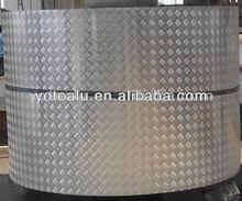 A3003 H16 Aluminum checkered/diamond plate in 5 bar supplier