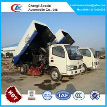 Mini road sweeper truck,street sweeper truck,airport sweeper truck 3-5cbm on sale!