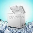 solid door deep freezer for frozen food