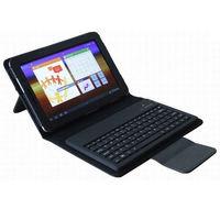 "For Samsung Galaxy Tab 2 7.0 7"" 7 inch P3100 P6200 Wireless Bluetooth Keyboard Leather Case KKB027"