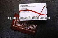 plastic card printing / trade card