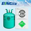 refrigerante propaner r290 gás com boa qualidade