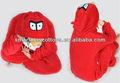 onesie pijamas traje do pássaro vermelho animal adulto pijamas
