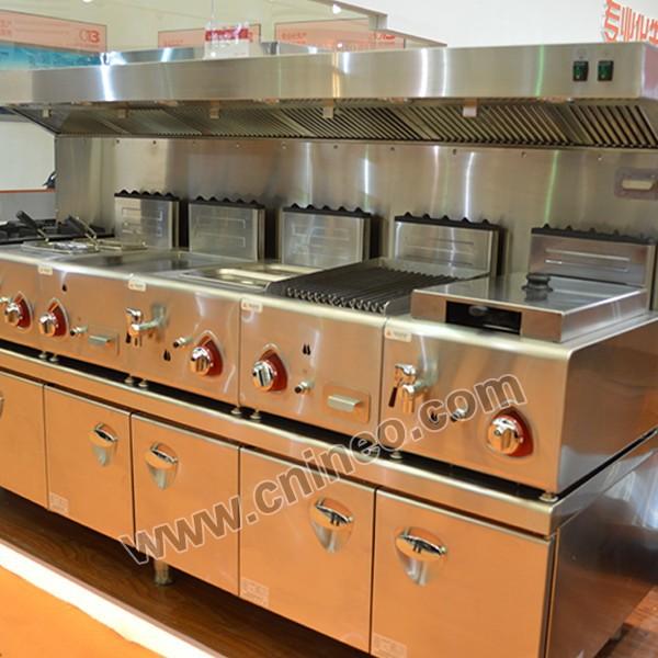 Deluxe Catering Equipment For Restaurant Automatic Kitchen Equipment Kitchen Equipment For