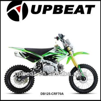 4 stroke cheap gas dirt bike 125cc (17/14 wheel)