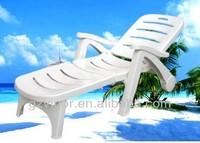 Plastic beach chair / Beach chaise lounge