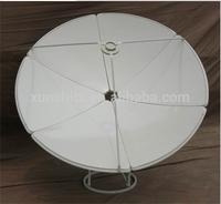 dish c band aluminium mesh dish satellite antenna 1.2m
