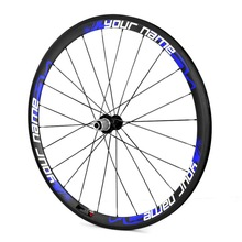2014 YISHUNBIKE factory sale 38mm tubular carbon bicycle wheels lightweight alloy hubs carbon wheels for road bike